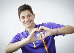 Andreea Părăluță susține proiectul Ziua Mondială a Inimii